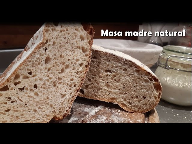 Cómo Hacer Pan Sin Levadura Con Thermomix I Masa Madre O Fermento Natural Sourdough Youtube