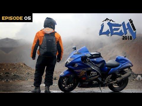 #DAY5 | Full RAIN ride till LEH Ladakh