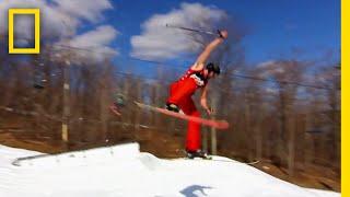360度回転スキージャンプの科学 |バ科学