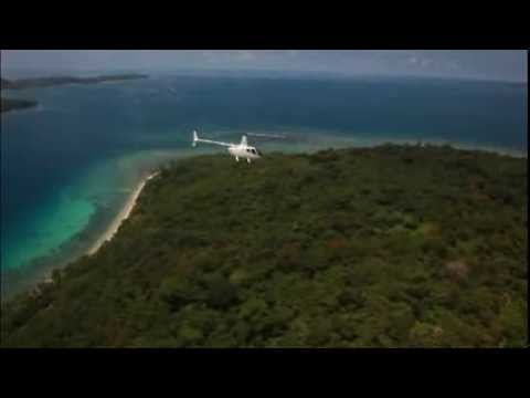 Spectacular aerial video over Port Vila   Vanuatu