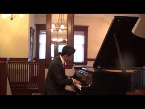 Chopin Scherzo No 2 in Bb minor, Op 31 Kyran Adams