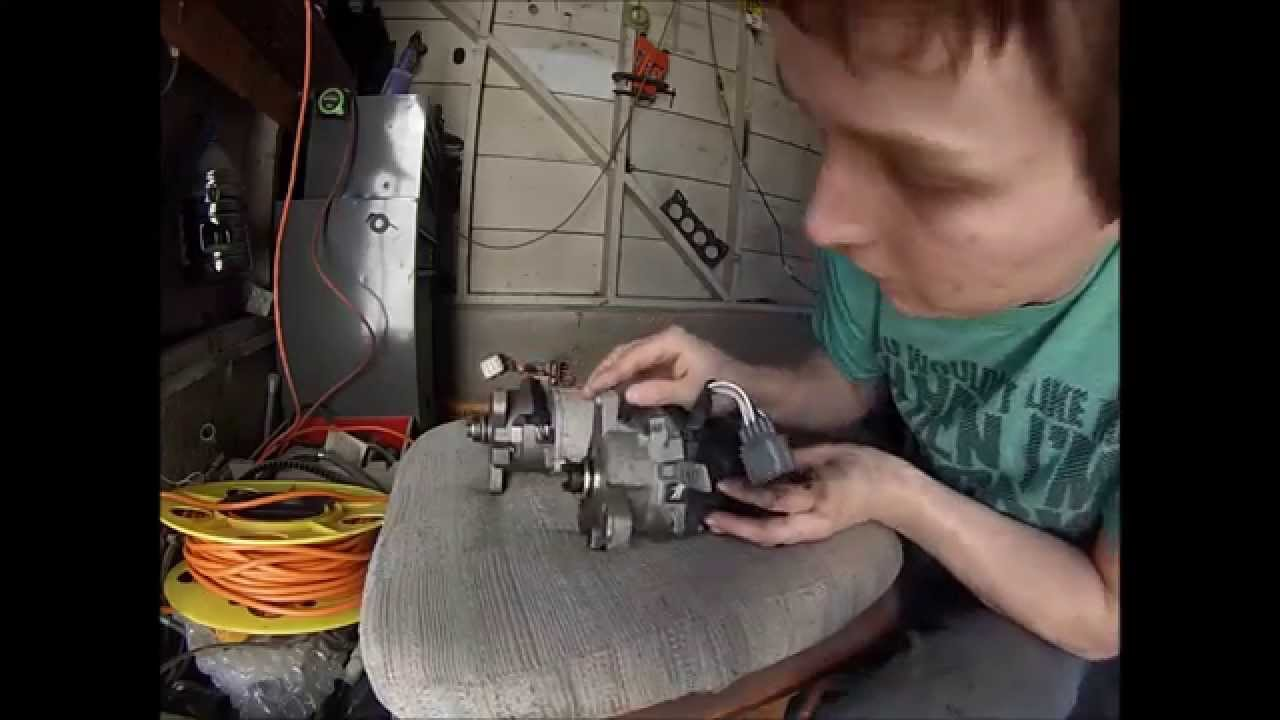 Obd0 To Obd2 Alternator Wiring Diagram R33 Radio Distributor Conversion Obd1 Youtube