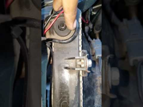 HOW TO FIX VIBRATION WHEN RADIATOR FAN TURNS ON
