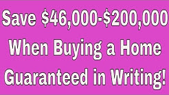 How To Save $46,000 When Buying A Home - Guaranteed! Tampa Realtor Lance Mohr