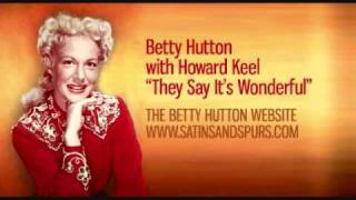 Betty Hutton & Howard Keel - They Say It