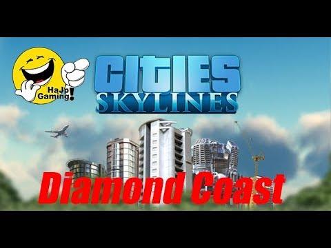 Cities Skylines - Island Airport Finally! & a Prison! - Part 14 | Diamond Coast