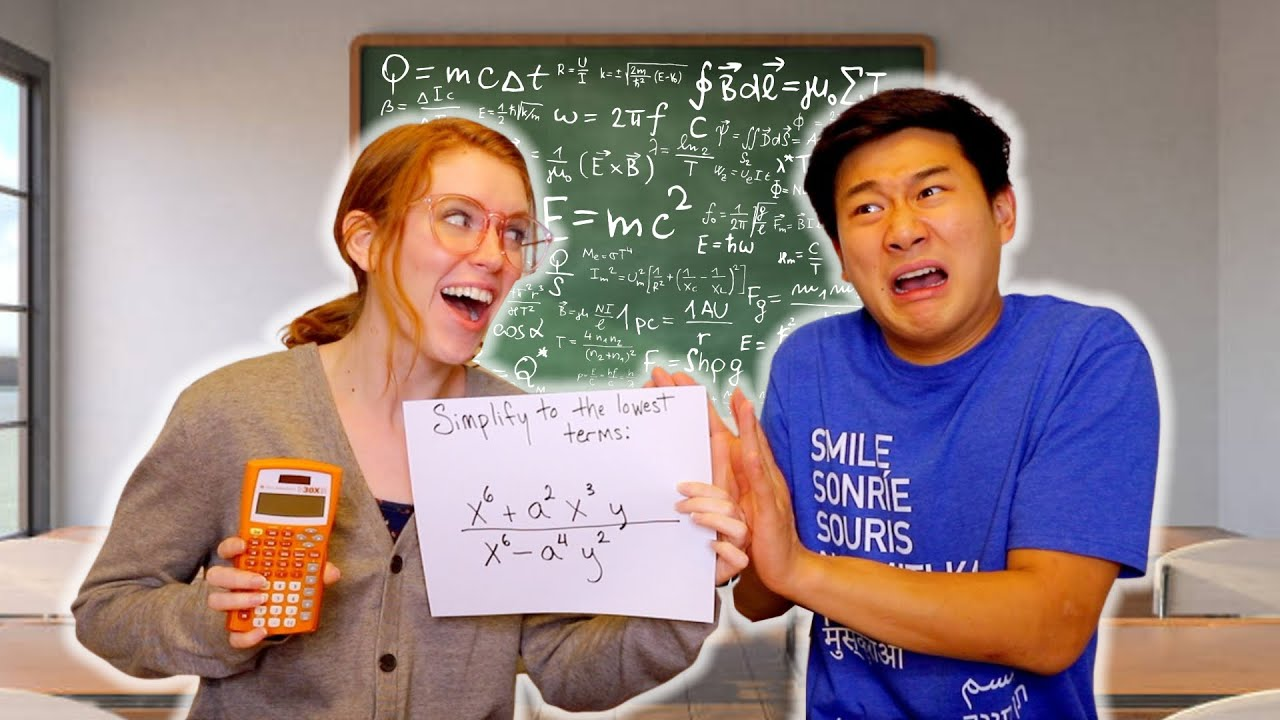 Signs You SUCK at MATH | Smile Squad Skits
