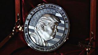 В России к инаугурации Трампа сделали монету с его изображением (новости)