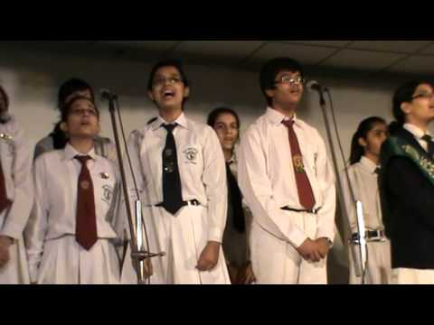 Mother teresa school choir dps rk puram new delhi