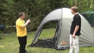 Туристическая палатка Woodland Wigwam 4