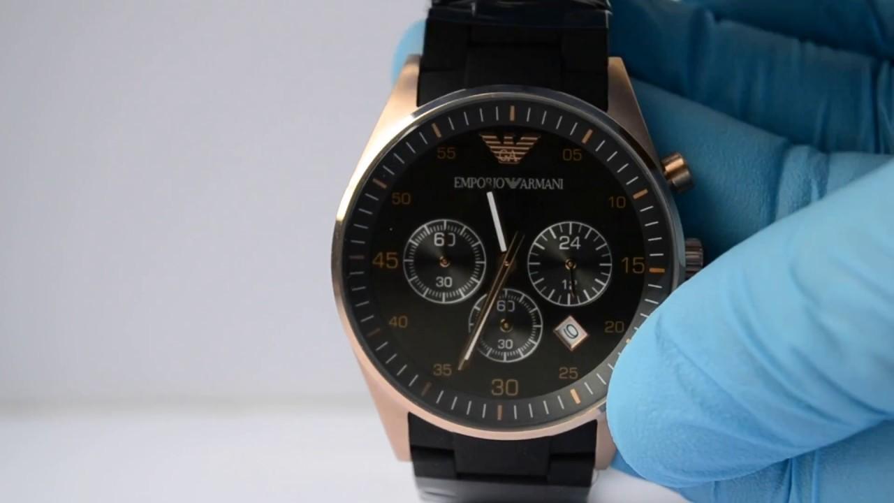 Emporio armani часы ar5905 оригинал бесплатно