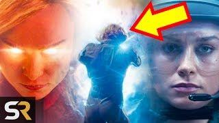 Captain Marvel's Trailer Hides Her MCU Origin In Plain Sight