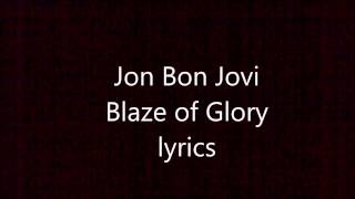 Gambar cover Jon Bon Jovi Blaze of Glory lyrics