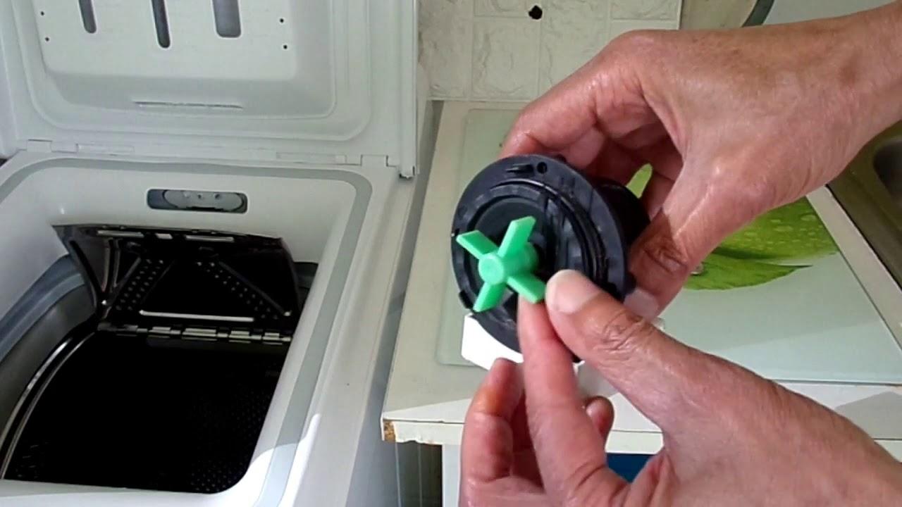 comment débloquer la pompe de vidange du lave linge( et pourquoi ça bloque)