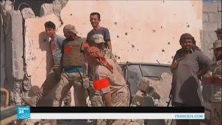الجهاديون محاصرون في رقعة لايتجاوز حجمها ملعب كرة قدم في سرت
