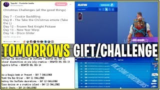 'NEW' TOMORROWS OFFICIAL CHRISTMAS GIFT/CHALLENGE TO UNLOCK IT! (14 jours de Fortnite)