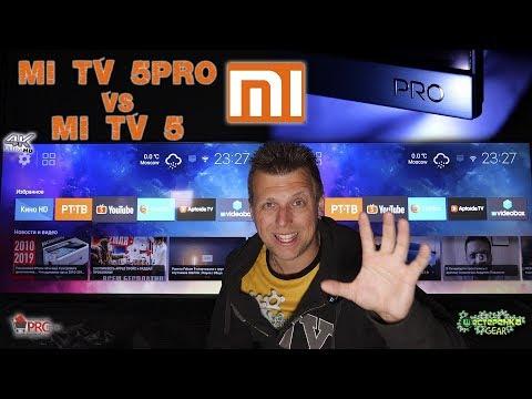 Xiaomi Mi TV5 PRO QLED Полный Обзор и Cравнение с Mi TV5