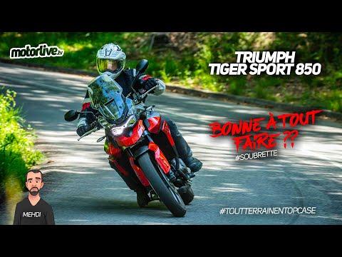 TRIUMPH TIGER 850 SPORT 2021    TEST MOTORLIVE