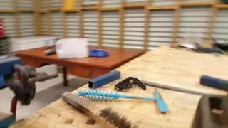 Welding thin steel tube with a stick welder
