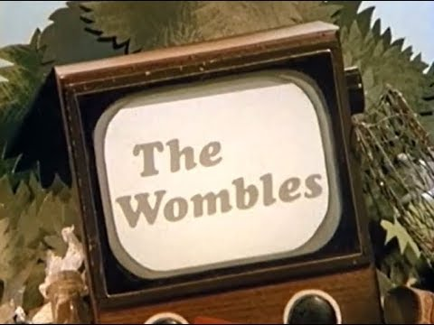 The Wombles - Intro Theme Tune Animated Titles