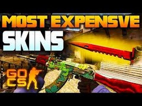 Top 10 Most Expensive CSGO Skins!