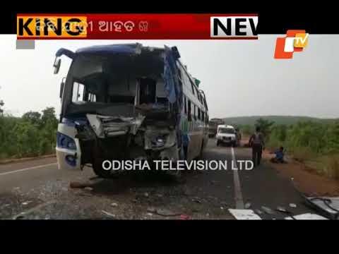 Bus Skids Off Road Near Kamakhyanagar; No Casualties