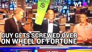 Guy Gets Cheated On Wheel of Fortune | What's Trending Now