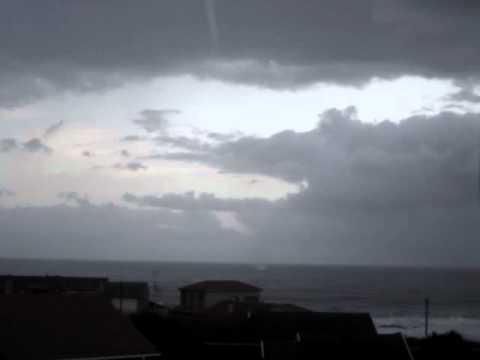 Waterspout off Seaview, Port Elizabeth