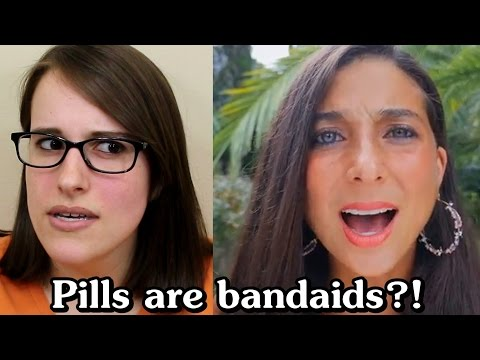 FullyRawKristina says pills are bandaids & other nonsense (Re: Fruits & Veggies CAN SAVE YOUR LIFE)