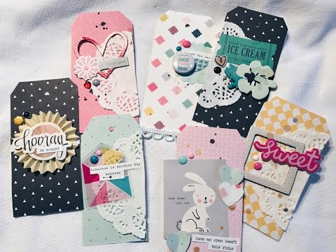 DIY Tags Process Video #3 - CRATE PAPER CUTE GIRL