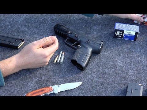 La Pistola FN 5.7 FiveseveN, en Español y en 4K