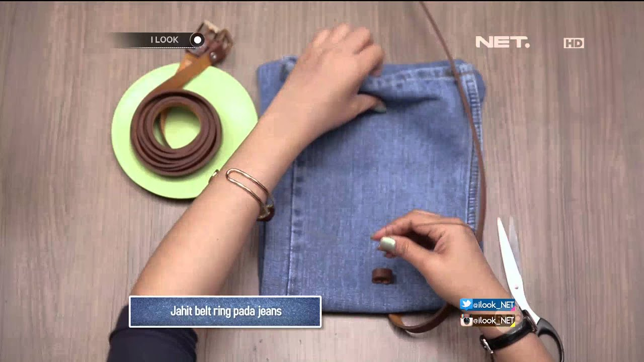 Do It Yourself Jeans Bag You