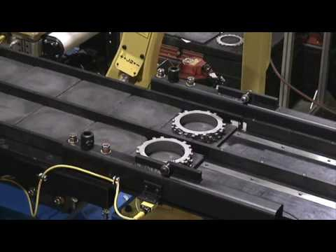 Ellison Technologies Robotic Sintered Metal Transfer System