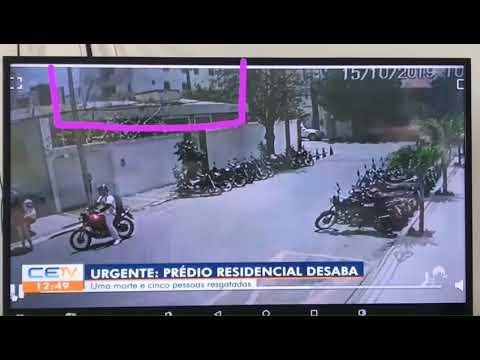 Prédio residencial desaba no Ceará