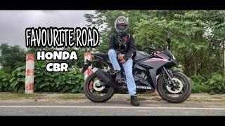 My Favorite Road || Honda CBR 150r Matte Black...