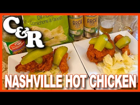 Nashville Hot Chicken Recipe with Beer from ARCH Brewing CO.