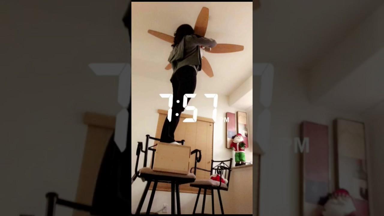 Ceiling Fan Fail Youtube