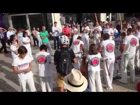 Brazilian Capoeira in Coimbra, Portugal