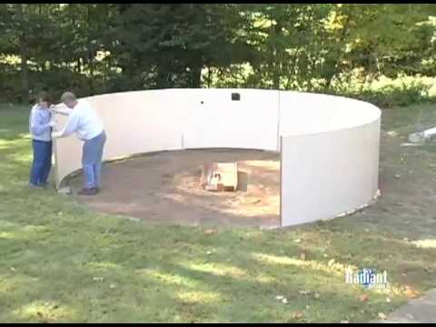 Diy swimming pool installing a radiant metric pool youtube solutioingenieria