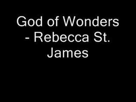 God Of Wonders - Rebecca St. James