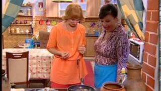 Недорогие рецепты - Сваты у плиты - Интер(Сегодня в Кучугурах блюда на любой вкус и кошелек: фаршированные цукини от тети Ларисы, паштет из куриной..., 2012-11-18T09:54:01.000Z)