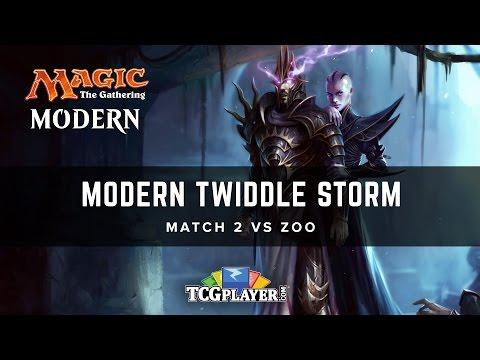 [MTG] Modern Twiddle Storm | Match 2 VS Zoo