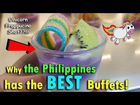 Why the PHILIPPINES has the BEST BUFFETS! | May 9th, 2017 | Vlog #109