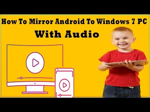 How To Mirror Android To PC Windows 7 With Audio    How To Use APowerMirror On Windows 7