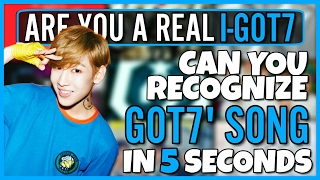 CAN YOU RECOGNIZE 15 GOT7 SONGS IN 5 SECONDS