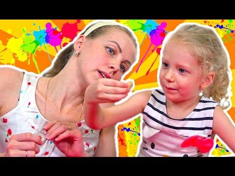 Челлендж Игра В ПОИСКАХ ЦВЕТА от ЯиГрушка Развлекательное веселое видео для детей от Миланы