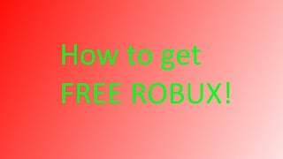ROBUXIAN EXPOSED (There is no way to get free robux)