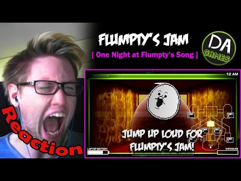 ONE NIGHT AT FLUMPTY'S SONG (Flumpty's Jam) REACTION! | I'M AWAKE! |