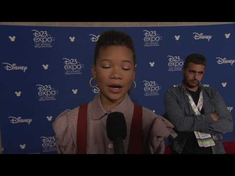 A Wrinkle In Time: Storm Reid D23 Interview