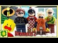 Wrong Brick Bodies With Lego Incredibles 2 | Stop Motion Cartoon For Kids